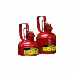 Justrite veiligheidskannen Type I - 1 liter (Trekkerhandvat)