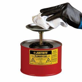 Justrite Veiligheidsplunjerkan - 4,0ltr.