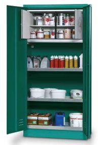 Veiligheidskast - Agrokast PSM met ingebouwde 30 min brandwerende box, 95 x 50 x 195cm