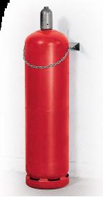 Gasflessenhouder