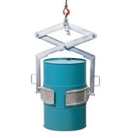 Vatenkanteltang voor stalen 200 ltr vaten thermisch verzinkte uitvoering
