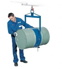 Vatendraaitang voor stalen staande of liggende 200 ltr vaten gelakte uitvoering