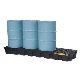 4-Drum EcoPolyBlend lekbak - inhoud 284 ltr - 246x64x30cm