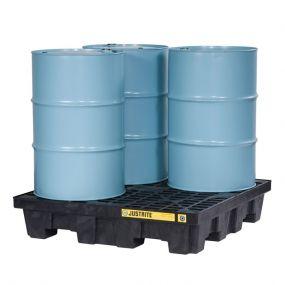 4-Drum EcoPolyBlend lekbak - inhoud 276 ltr - 125x125x26cm