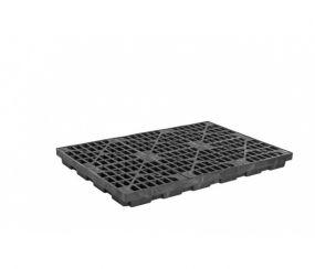 4-Drum EcoPolyBlend werkvloer - inhoud 185 ltr - 125x125x14cm