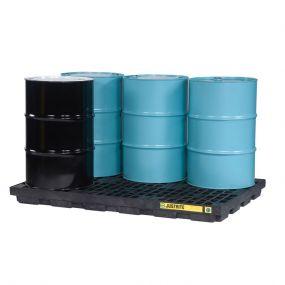 6-Drum EcoPolyBlend werkvloer - inhoud 276 ltr - 185x125x14cm