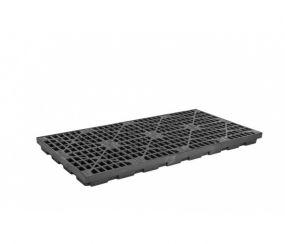 8-Drum EcoPolyBlend werkvloer - inhoud 371 ltr - 246x125x14cm
