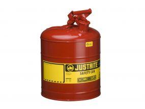Justrite veiligheidskannen Type I - 4 liter (Zwenkbaar handvat)