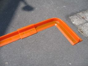 Vloeistofbarriere hoekprofiel 39/39x11x5cm