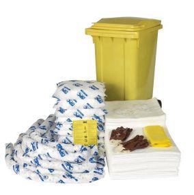 Oil Spill Kit Mobiel 240ltr. - Rolcontainer - Economy