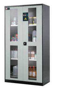 Chemicaliënkast, model CS.195.105 met draaideur 105 x 52 x 195cm