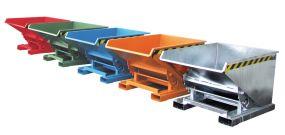 Kantelbak / Kiepcontainer (Type EXPO) 0,90m3 - 126x157x83cm