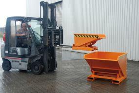 Kantelbak / Kiepcontainer (Type EXPO) 1,20m3 - 172x107x109cm