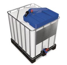 Asecos kunststof IBC trechter geschikt voor de meest gebruikte IBC containers