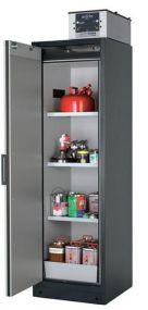 Brandwerende veiligheidskast Q-LINE Classic 90 minuten met 1 draaideur 60 x 61,5 x 195,5cm