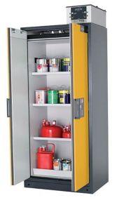 Brandwerende veiligheidskast Q-LINE Classic 90 minuten met 2 draaideuren 90 x 61,5 x 195,5cm