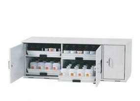 SL-Line Logen- en zurenkast - ASECOS - 140x57x60cm