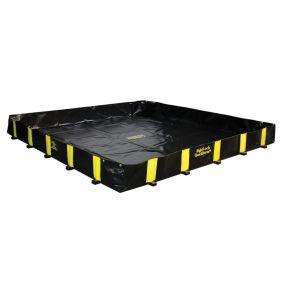 Justrite opvouwbare lekbak (2820ltr) - 300x300x30cm